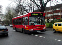 Route P15, London Central, LDP175, Y975TGH, Half Moon Lane
