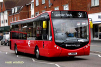 Route S1, Quality Line, OM12, YJ14BFX, Banstead