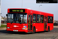 Route X26, Metrobus 210, SN03WLX, Hatton Cross