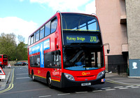 Route 270, Go Ahead London, E139, SN60BZL, Putney Bridge