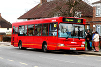 Route 303, Arriva The Shires 3804, SN56AXG, Burnt Oak