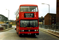 Route 87, London Transport, T115, CUL115V, Barking