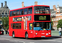 Route 211, Abellio London 9817, LG52XYM, Westminster Bridge