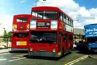 Route 130, South London Buses, DMS2417, OJD417R, West Croydon