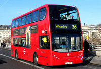 Route 26, Tower Transit, DN33653, SN12BTE, Waterloo Bridge