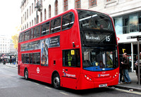 Route 15, Stagecoach London 12317, SN14TYU, Charing Cross