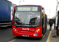 Route 224, First London, DML44036, YX58DWM, Alperton