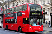 Route 91, Metroline, TE682, LK55KKR at Trafalgar Square