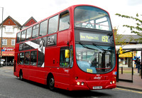 Route 152, Abellio London 9028, BX55XMA, Mitcham