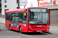 Route 339, First London, DM44170, YX60DXP, Stratford