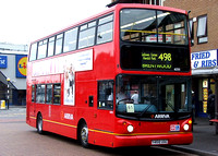 Route 498, Arriva Southend 6235, Y468UGC, Romford