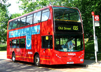 Route 135, Arriva London, T14, LJ08CVK, Crossharbour