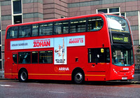 Route 135, Arriva London, T17, LJ08CVN, Aldgate