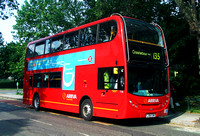 Route 135, Arriva London, T23, LJ08CUW, Crossharbour
