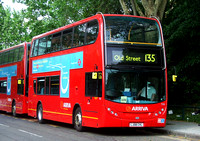 Route 135, Arriva London, T15, LJ08CVL, Crossharbour