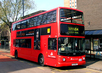 Route 104, East London ELBG 17129, V129MEV, Stratford