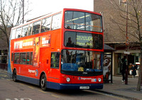 Route 104, Stagecoach London 17904, LX03ORW, Stratford
