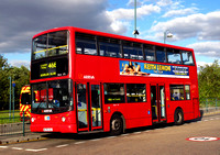 Route 466, Arriva London, DLA176, W376VGJ, Croydon