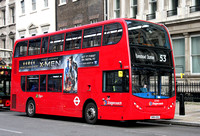 Route 53, Stagecoach London 12345, SN64OGU, Whitehall