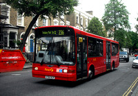 Route 236, First London, DML41464, X764HLR, Canonbury