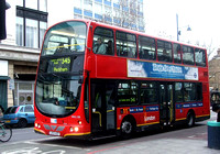 Route 345, London General, WVL138, LX53AZO