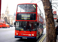 Route 53, Stagecoach London 17112, V112MEV, Parliment Square