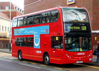 Route 128, Arriva London, T13, LJ08CVH, Romford