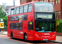 Route 128, Arriva London, T23, LJ08CUW, Romford
