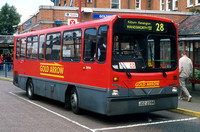 Route 28, First London, DW94, JDZ2394, Golders Green