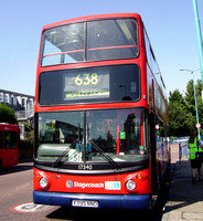 Route 638, Stagecoach London 17340, X395NNO, Bromley