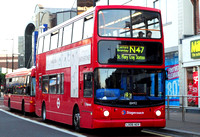 Route N47, Stagecoach London 18492, LX06AGV, Bromley
