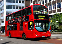 Route 50: Croydon Town Centre - Stockwell