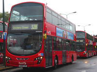 Route 328, First London, WN35004, LK09CZS, Golders Green