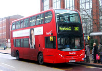 Route 252, First London, DN33548, SN58CFP, Romford