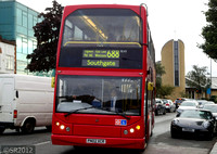 Route 688, Sullivan Buses, ELV2, PN02XCR, Mill Hill