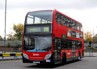 Route 118, London General, E93, LX57CLY, Morden