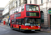 Route 422, London Central, PVL24, V324LGC, Woolwich