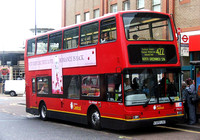 Route 422, London Central, PVL25, V325LGC, Woolwich