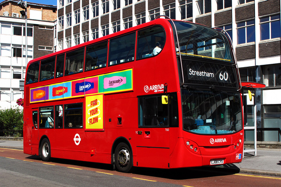 London Bus Routes: Route 60: Old Coulsdon - Streatham Station &emdash; Route 60, Arriva London, T60, LJ08CYS, Croydon