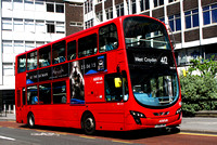 Route 412, Arriva London, DW273, LJ59LWW, Croydon