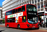 Route 466, Arriva London, DW251, LJ59AAX, Croydon