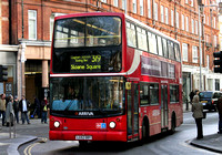Route 319, Arriva London, DLA327, LG52DBY, Sloane Square