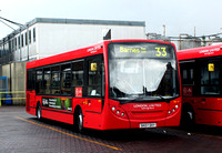 Route 33, London United RATP, DE73, SK07DXY, Fulwell