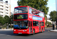 Route 541, Stagecoach London 17495, LX51FMU, Canning Town