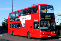 Route 121, Arriva London, DLA129, V329DGT, Ponders End