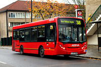 Route 318, Arriva London, EN5, LJ57USW, Lordship Lane