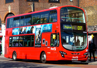 Route D7, First London, VN37842, BV10WVM, Mile End