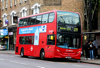 Route 279, Arriva London, T256, LJ61LKE, Bruce Grove
