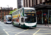 Route 42, Stagecoach Manchester, MX10MVT, Manchester