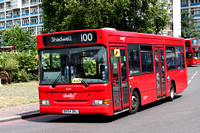 Route 100, Abellio London 8307, BX54DKL, Elephant & Castle